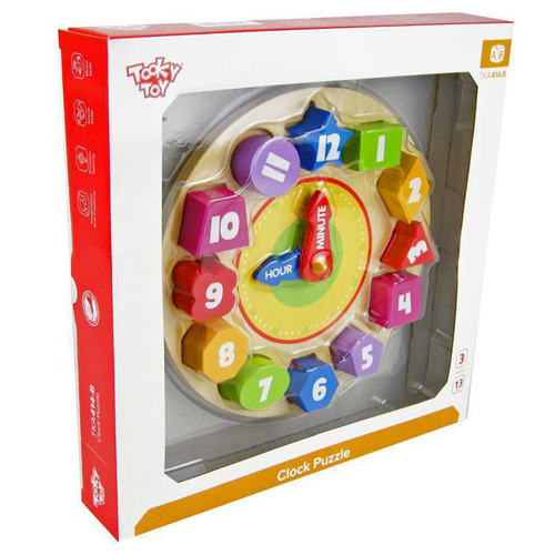 Tooky Toy Kids' Clock Puzzle