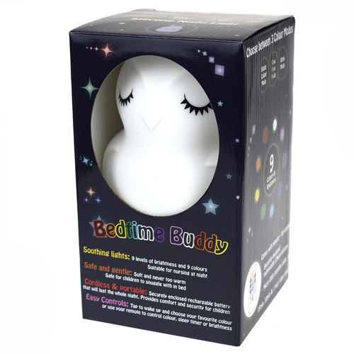 Kaper Kidz Kids' Bedtime Buddy Blinky The Owl Night Light
