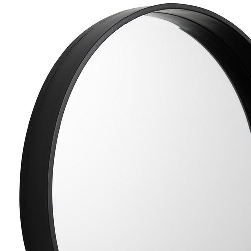 Wall Art Studio Black Ralph 60cm Round Metal Wall Mirror