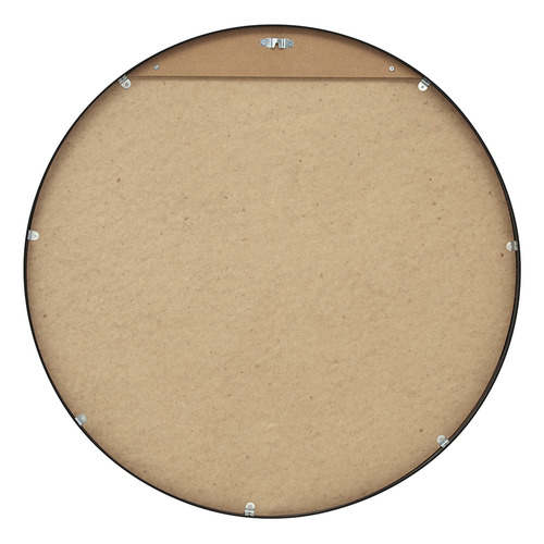 Halo Round Metal Wall Mirror