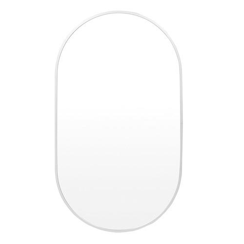 Halo Oval Metal Wall Mirror