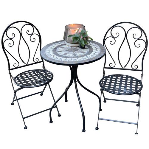 2 Seater Mosaic Venice Outdoor Bistro Set