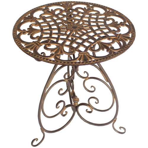 Edelweiss Metal Outdoor Side Table