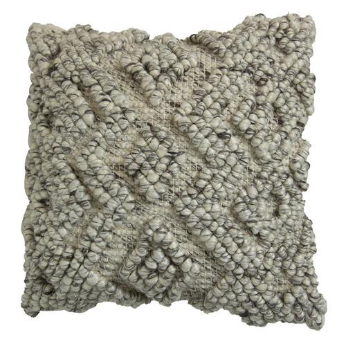 Bohemian Cotton & Wool Cushion