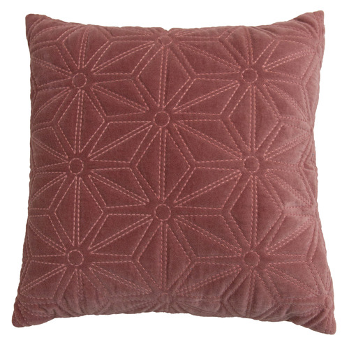 Carlson Quilted Cotton Velvet Cushion
