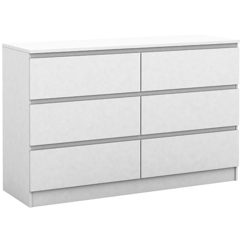 Cape Furniture Burton 6 Drawer Lowboy