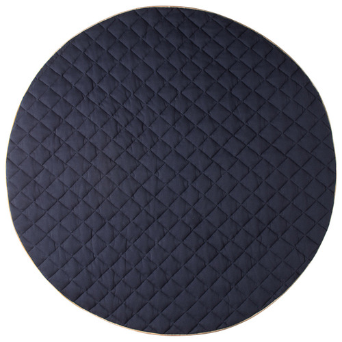 Cattywampus Round Quilted Cotton Play Mat