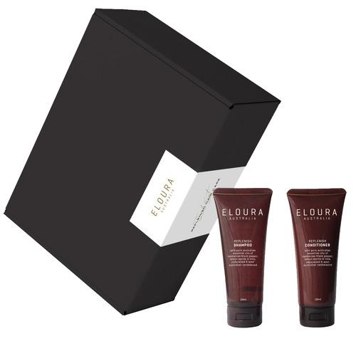 Eloura Australia 2 Piece Replenish Shampoo & Conditioner Travel Gift Set