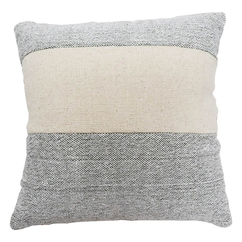 Bohemia & Co Grey & White Cotton Cushion