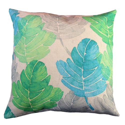 Bohemia & Co Palm Leaf Cotton Cushion