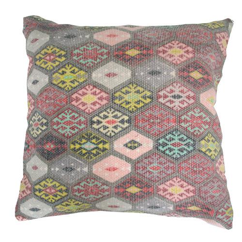 Bohemia & Co Diamond Kilim Cotton Cushion