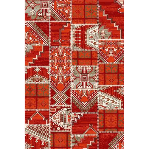 Marvin Red Designer BCF Rug