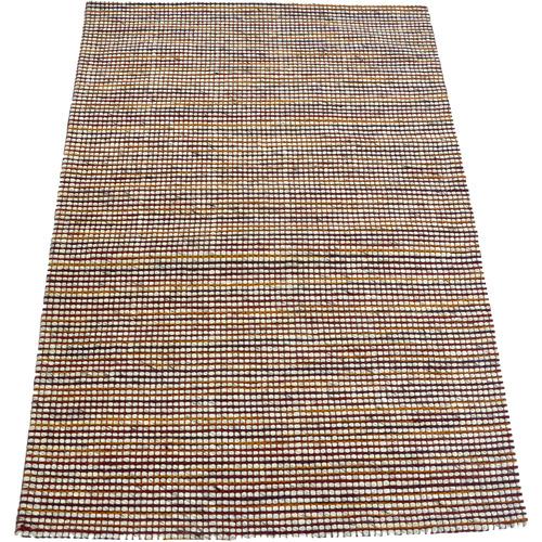 Artisan Decor Rust Berlin Woven Wool-Blend Rug