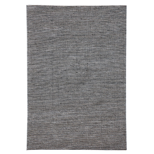 Artisan Decor Navy Festival Hand Made Wool-Blend Rug