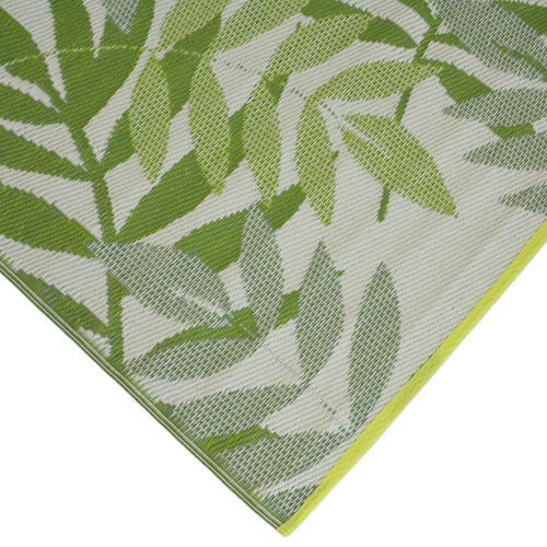 Artisan Decor Olive Green Chatai Classic Outdoor Rug