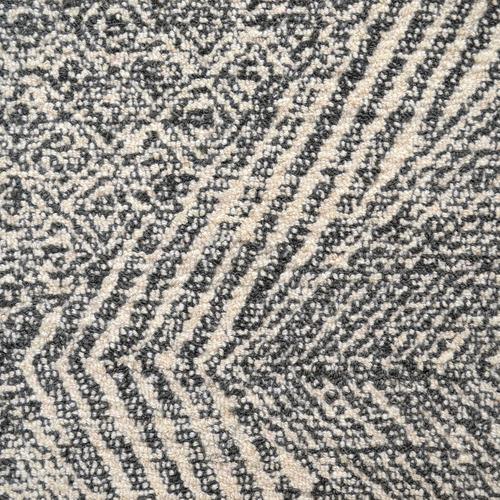 Artisan Decor Charcoal Newcastle Hand-Tufted Wool-Blend Rug