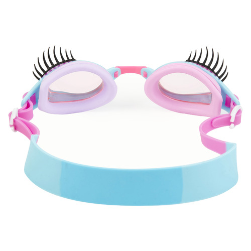 Bling2o Kids' Periwinkle Blue Glam Lash Swim Goggles