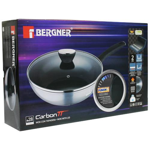 Bergner Carbon TT Aluminium Wok