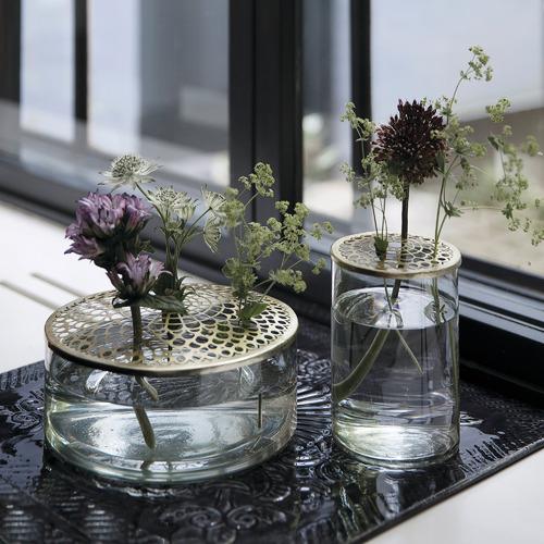 VT Wonen Clear Wide Lita Glass Vase