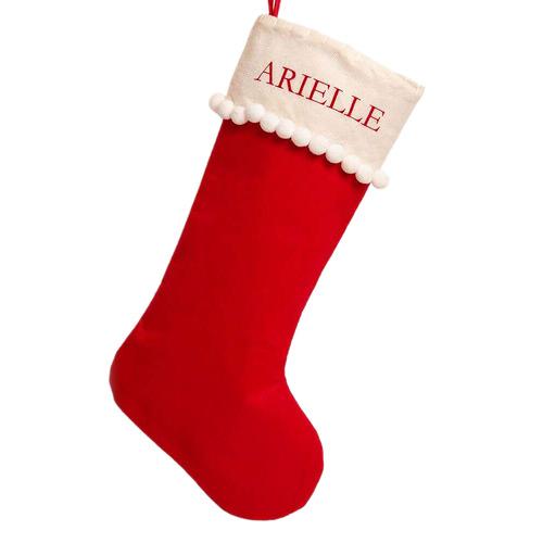The Personalised Gift Market Personalised Felt Christmas Stocking