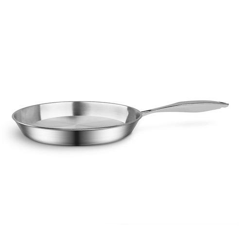 Soga 2 Piece Silver 20cm & 32cm Fry Pan Set