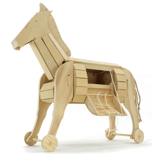 Science & Nature Trojan Horse Activity Toy