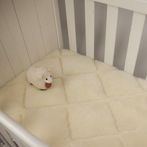 Woolstar Baby Japara Reversible Cotton-Blend Topper