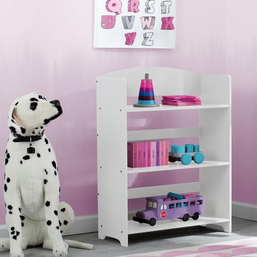 Delta Furniture Kids White MySize 3 Tier Bookshelf