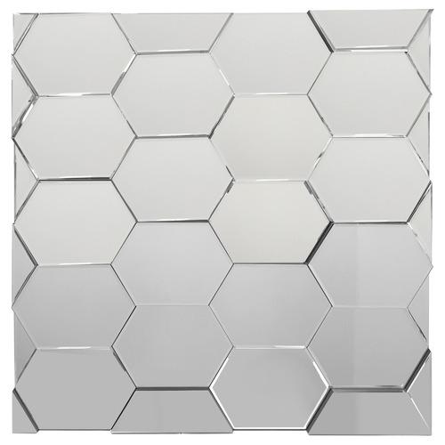 K's Homewares & Decor Square 3D Decorative Wall Mirror