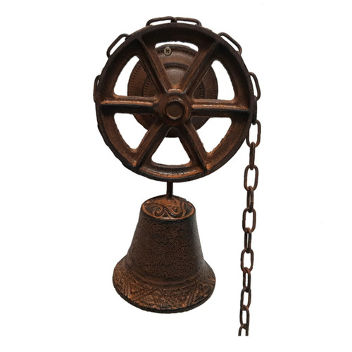 K's Homewares & Decor Chain & Wheel Doorbell