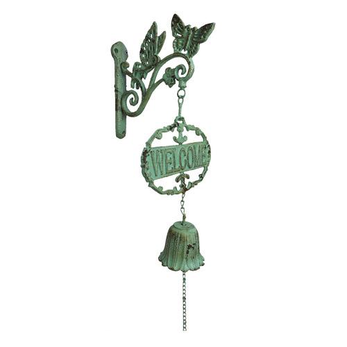 K's Homewares & Decor Welcome Butterfly Doorbell