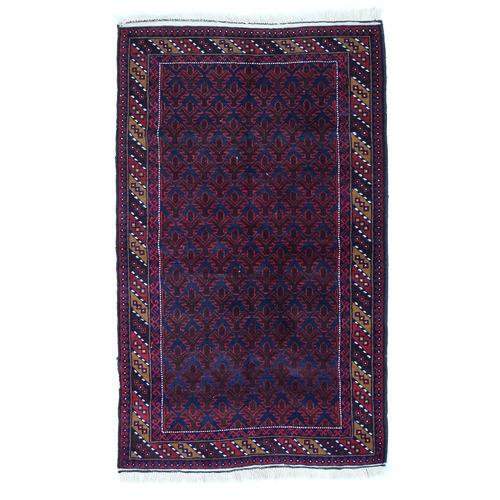 Afgapersia Idina Hand-Knotted Wool Balouchi Rug