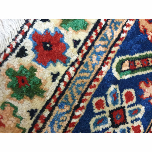 Afgapersia Vintage Style Russi Kavkaz Hand-Knotted Wool Rug