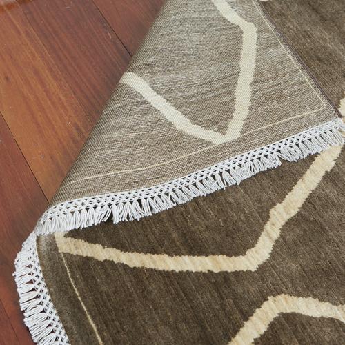 Davar Hand-Knotted Gabha Wool Rug