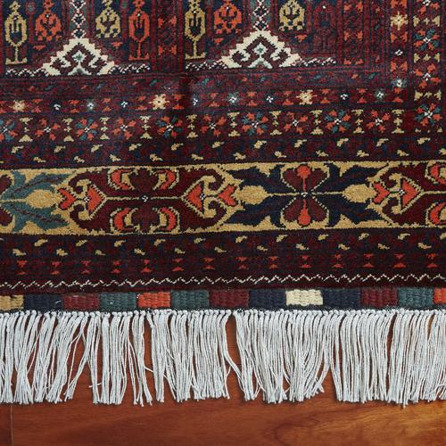 Afgapersia Lila Ala Makhmal Hand-Knotted Lambswool Rug