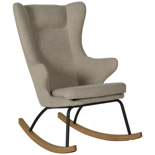 Quax Clay Deluxe Upholstered Rocking Chair