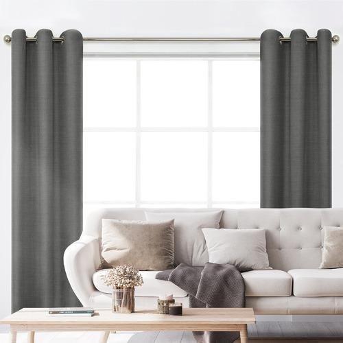 BAHA Henley Eyelet Blockout Curtains