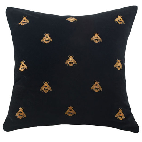MM Linen Buzz Square Cotton Velvet Cushion