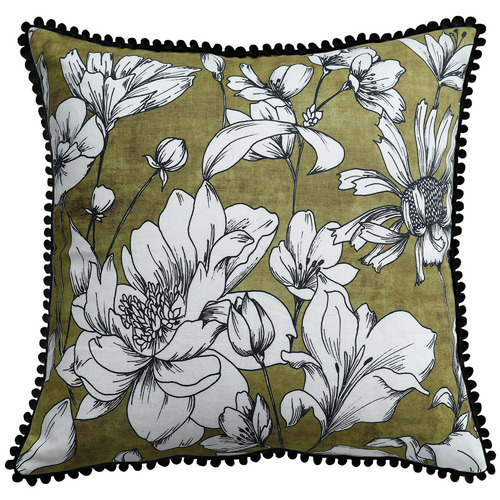 MM Linen Hally Cotton-Blend Cushion