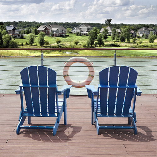 Ehommate Outdoor Adirondack Chair