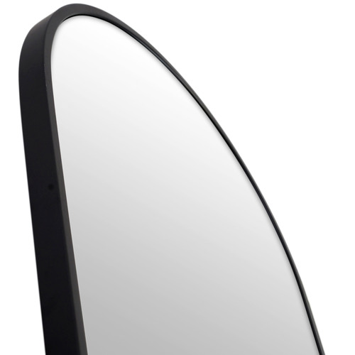 170 x 60cm Arched Leaner Stainless Steel Dressing Wall Mirror