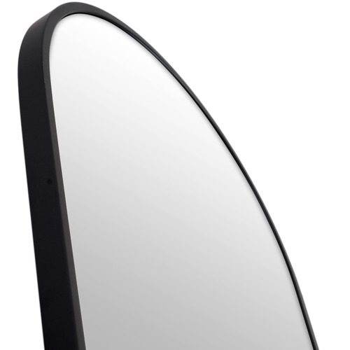 170 x 76cm Arched Leaner Stainless Steel Dressing Wall Mirror
