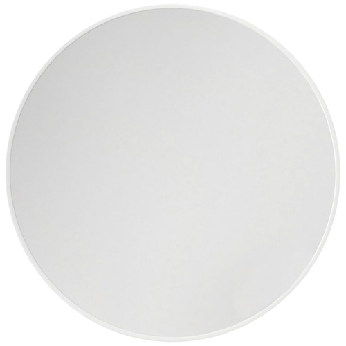 90cm Round Stainless Steel Wall Mirror