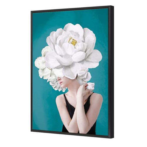 Lady & Flower III Canvas Wall Art