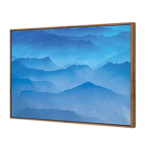 Designer ArtHouse Misty Layers Canvas Wall Art