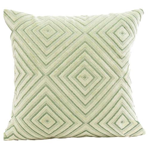 Flocking Velvet Cushion Cover