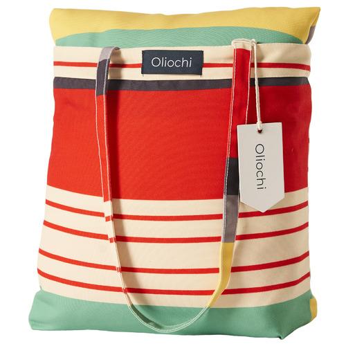 Oliochi Stripe Avalon Picnic Blanket & Bag