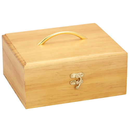 30 Slots Pine Wood Essential Oil Storage Box