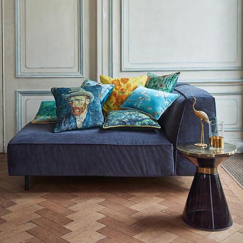 Blue Van Gogh Cushion