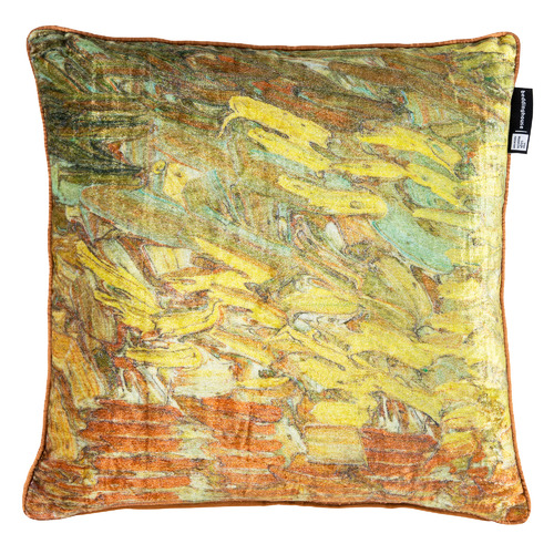 Van Gogh Paint Velvet Cushion